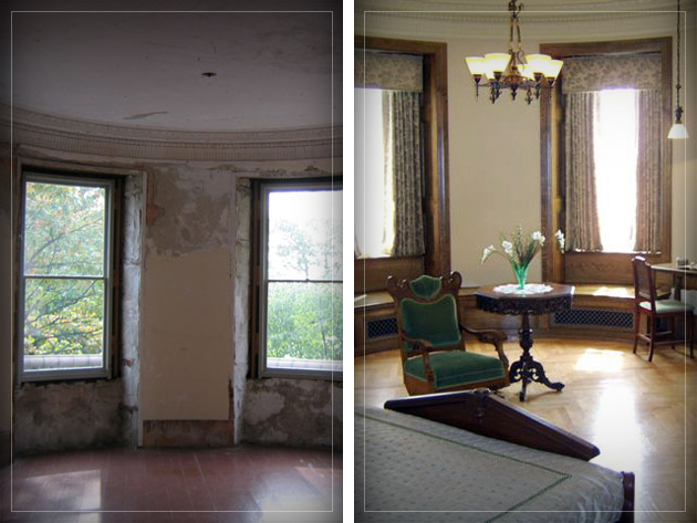 Bedroom Renovation Before And After renovations — official boldt castle website - alexandria bay ny in