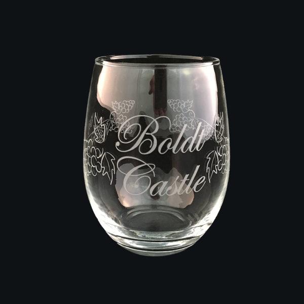 wine glass Stemless