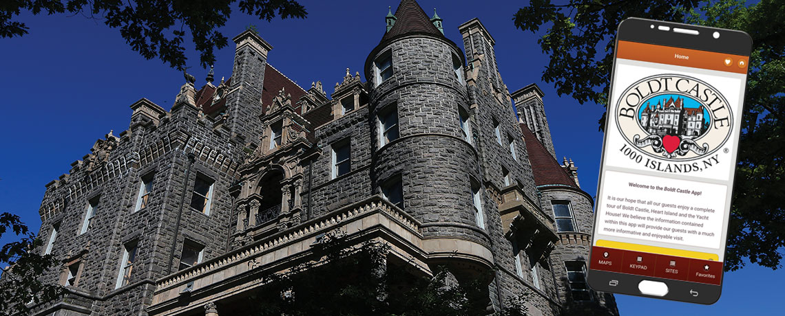 Download the Boldt Castle App